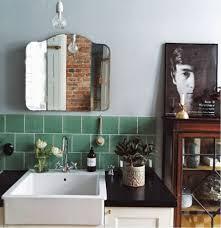 Home Decor Blogspot 160909 Badkamers Groene Tegels Bron Anothersideofthislife