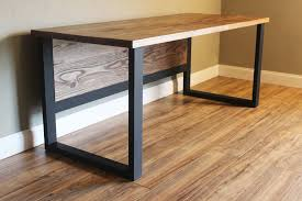 Modern Rustic Desk Industrial Modern Rustic Desk Heartland Rustics