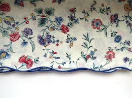 vintage laura ashley queen flat sheet chinese silk retired