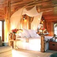 log canopy bed u2013 gemeaux me