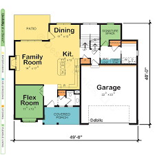 Plan Floor Design by House Plans With Two Owner Suites Design Basics