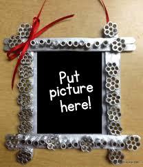 crayon photo frame ornaments teach a roo