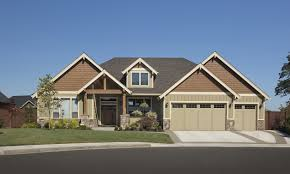 pin single story craftsman style homes bungalow house plans at