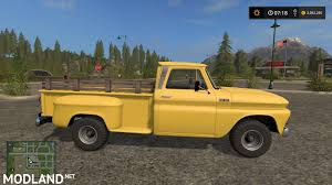 Classic Chevrolet 4x4 Trucks - 1966 custom chevy 4x4 v 1 1 mod farming simulator 17