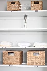 tips for organizing linen closet