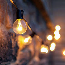 lights string lights battery string lights frosted warm