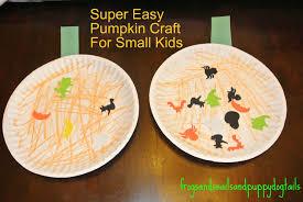 super easy pumpkin craft fspdt