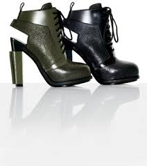 3 green alexander wang boots and booties shoes