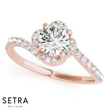 golden diamond rings images 14k fine gold diamonds solid women 39 s engagement rings bypass setra jpg