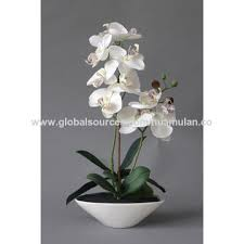 artificial orchids china artificial flowers with led lights high quality decorative