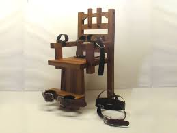 Thomas Edison Electric Chair Custom Made Thomas Edison Electric Chair By Nikola Tesla Ac