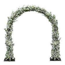 wedding arches uk cherry blossom flower wedding arch white for hire