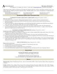 Engineering Resume Template Word Wonderful Material Engineer Resume 39 About Remodel Resume