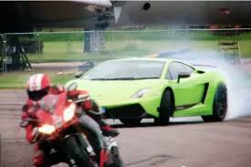 lamborghini bike lamborghini lp570 4 superleggera vs aprilia rsv4 superbike auto