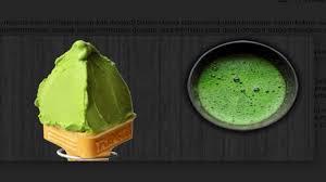 Teh Matcha fantastis es krim matcha ini dibanderol rp217 ribu untuk 1 scoop