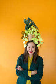 Pothead Halloween Costume Diy Potted Plant Hat House Lars Built