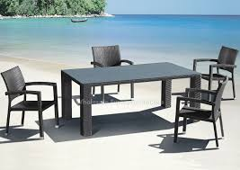 modern outdoor table and chairs gorgeous modern outdoor dining set of stunning room the elegant