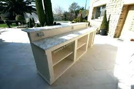 cuisine exterieure plan cuisine exterieure bois idée de modèle de cuisine