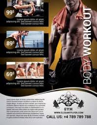 fitness flyer template free fitness flyer psd templates for photoshop