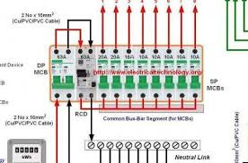 charming how to wire a 4 pole rcd circuit breaker for 3 phase 4