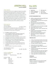 account manager resume exles account manager resume exle 3 template