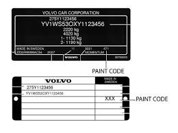 volvo color code location volvo get free image about wiring