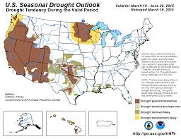 Colorado Drought Map by Winter 2014 2015 Highlights