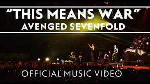 Avenged Sevenfold Flag Avenged Sevenfold This Means War Official Music Video Youtube