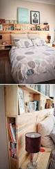 best 25 headboard shelves ideas on pinterest headboard with