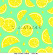 seamless lemon pattern seamless pattern lemons cute seamless pattern stock vector 556610257