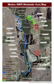 hunt maps refuge map modoc u s fish and wildlife service