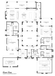 pictures spanish style house plans with interior courtyard home