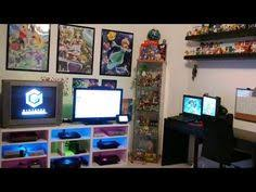 My Gaming Pc Setup Tour Youtube by The Ultimate Geek Sanctuary Geek Pinterest Geek Culture
