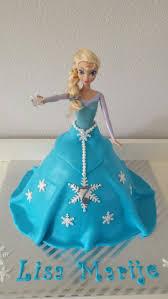 12 best elsa kuchen images on pinterest elsa doll cake elsa