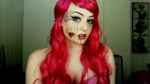 Youtube Halloween Makeup by Hooked Mermaid Tutorial Halloween Makeup Sfx Youtube