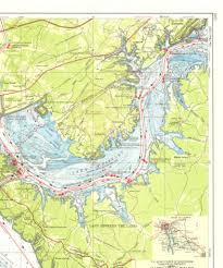 cumberland river map navigation chart cumberland river lake barkley maps maps