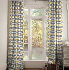 Soft Yellow Curtains Designs Uncategorized Yellow And Gray Curtains For Stylish Modern Yellow