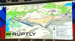 Azaz Syria Via Google Maps by Putin In Syria Russian Mod Presents Claims Of Turkish Oil Trading