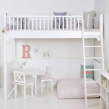 white scandinavian loft bed scandinavian loft lofts and modern kids