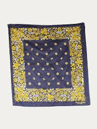 vintage yellow color buy foothills california vintage 100 cotton fast color bandana