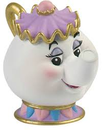 beauty and the beast cake topper mrs potts from beauty and the beast cake topper figurine the