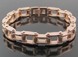 rose stainless steel bracelet images Blackjack jewelry men 39 s stainless steel jewelry jpg