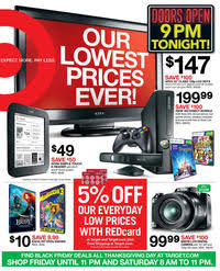 target black friday hours to buy xbox one target black friday 2012 ad scan