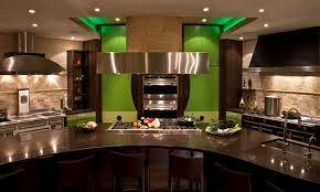 big kitchen design ideas blue kitchen island big modern kitchen interior design ideas