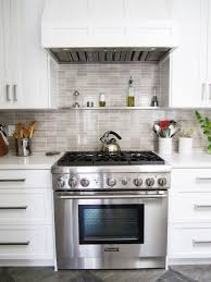 interior awesome white stone kitchen backsplash and stainless