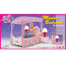 princess case for barbie doll bedroom furniture and