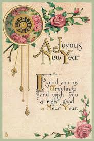 new year post cards 126 best vintage happy new year postcards images on
