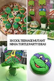 teenage mutant ninja turtles home decor 30 cool teenage mutant ninja turtles party ideas shelterness