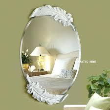 white decorative wall mirror chic decorative wall mirrors for