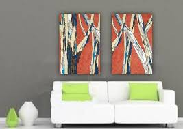 Wall Art Sets For Living Room 118 Best Large Wall Art Original Paintings Large Artwork